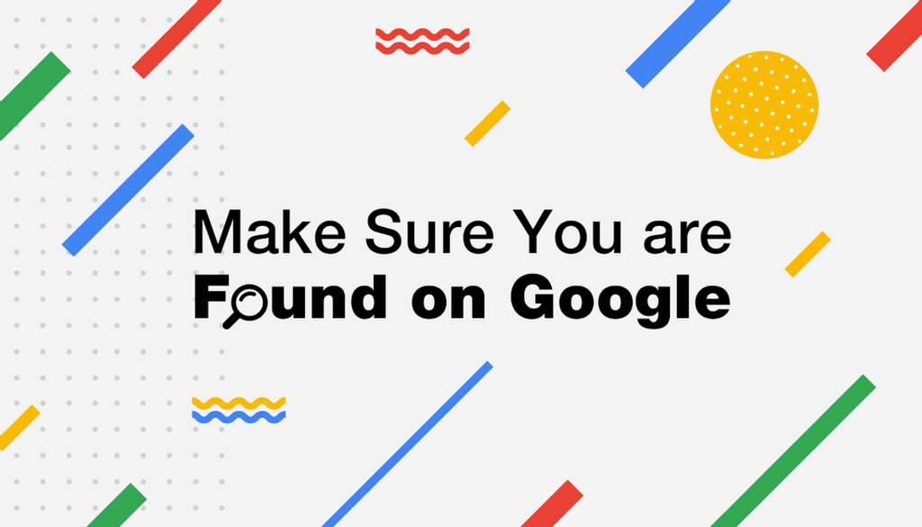 make sure of founding on google